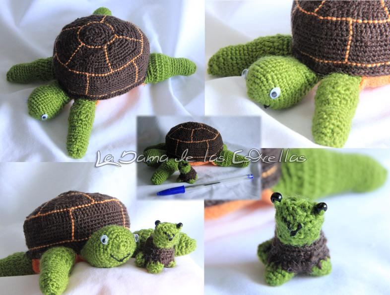 Amigurumi Watermelon Turtle : Amigurumi Turtle by ladamadelasestrellas on DeviantArt