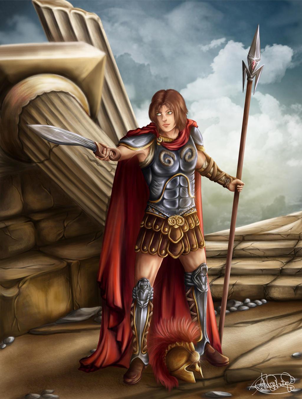 Ares God of War by ladamadelasestrellas on DeviantArt