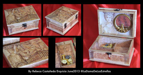 Custom Music Box by ladamadelasestrellas