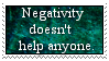 Negativity Stamp by Riksie-Dixie