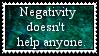 Negativity Stamp by Riksie-Dixie