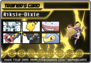 Riksie-Dixie's Profile Picture