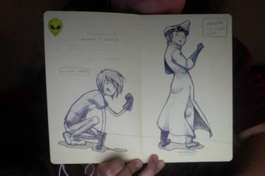 Sketchbook doodles Adventure Time