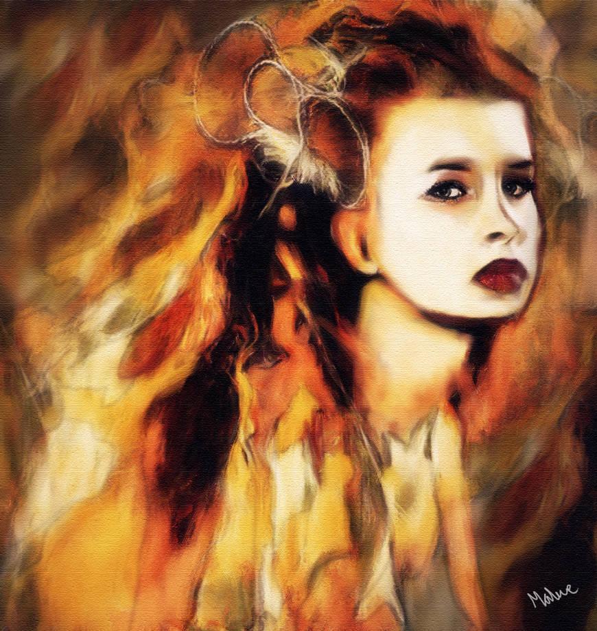 A woman's fire