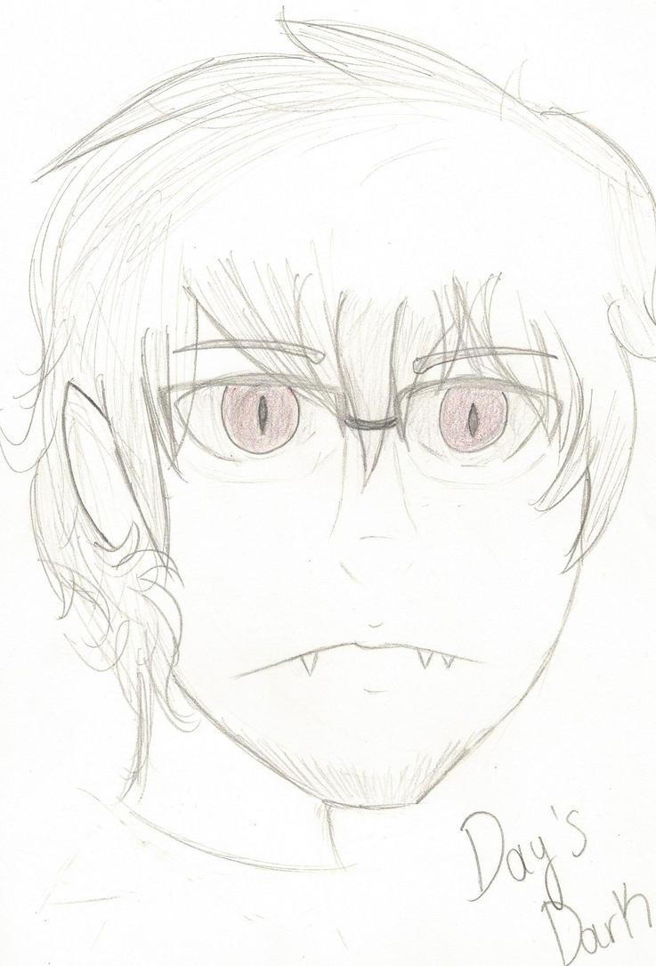 Dumb Emo Vampire by KioshikitsuneKun