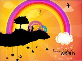 beautiful world- tribute to M. by ebonyChan
