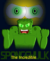 The Incredible SpongeHulk by Dragon-Wing-Z