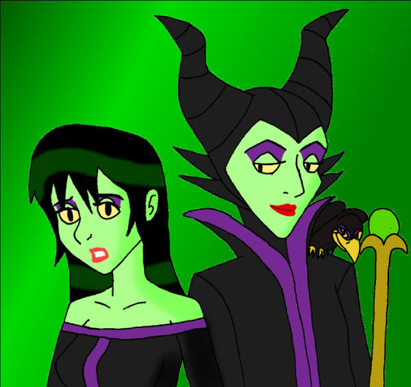 Disney Millicent And Maleficen By Dragon Wing Z On Deviantart