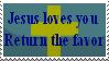 Jesus Loves You by Dragon-Wing-Z