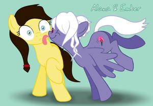 Alana Licked by Ember :collab: