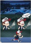 Gravity Falls - A Dangerous Game page 01
