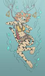 Savvie's Water Landing Test by Akira-Devilman666
