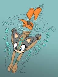 Sticks  Swim 1 Of 7 by Akira-Devilman666