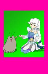 Birthday With Pusheen by Akira-Devilman666