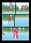 Pinkie Pie on Slipway by Akira-Devilman666
