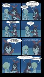 Amber x Hotaru underwater date by Akira-Devilman666