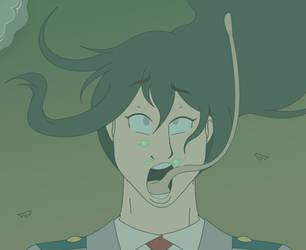Tsuyu in trouble by Akira-Devilman666