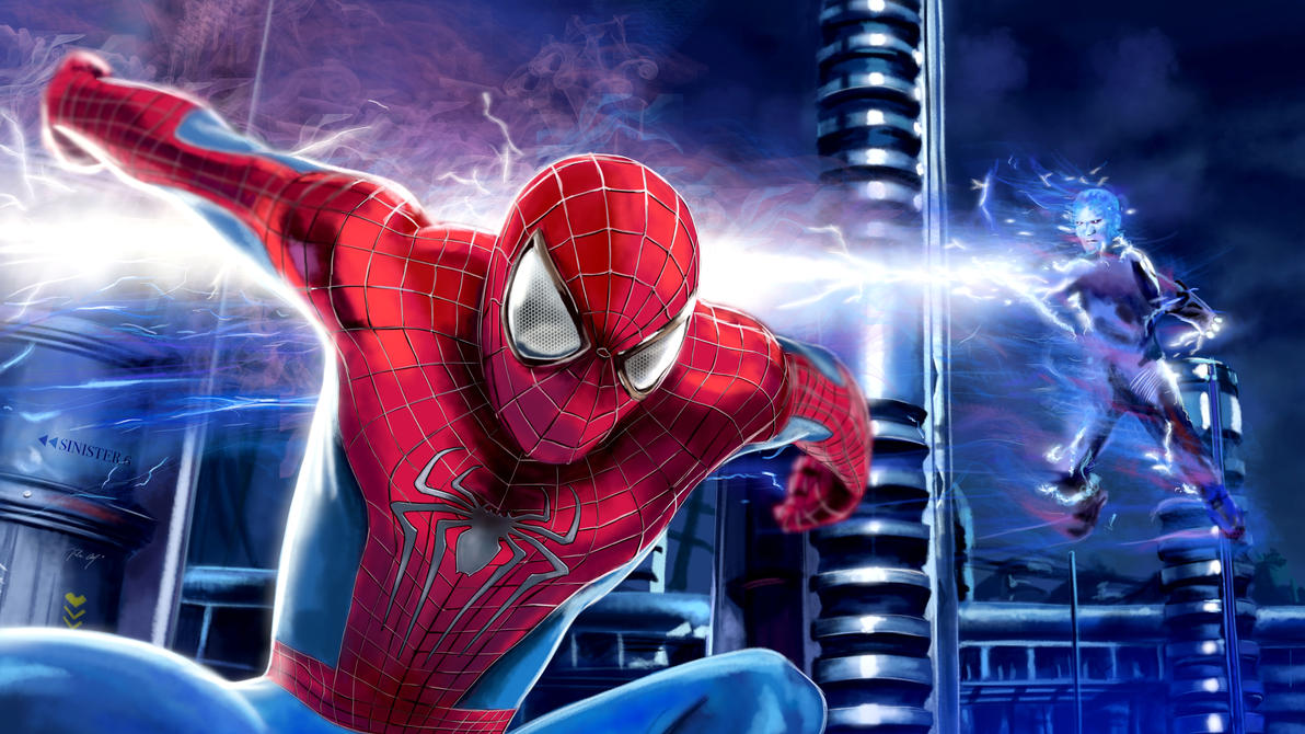 Speed Painting 23: The Amazing Spiderman 2 by juliancelaj