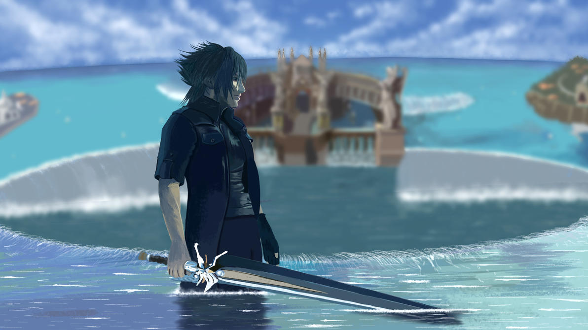 Speed Painting 54: Final Fantasy XV by juliancelaj