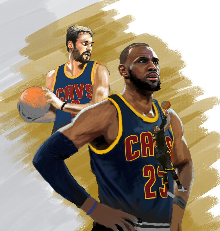 Speed Painting 60.1: NBA Finals 1/3 by juliancelaj