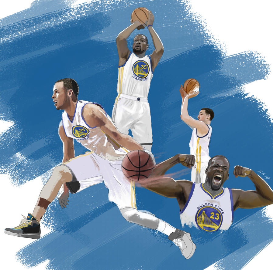 Speed Painting 60.2: NBA Finals 2/3 by juliancelaj