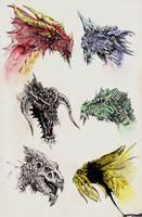 Dragons by yunuskocatepe