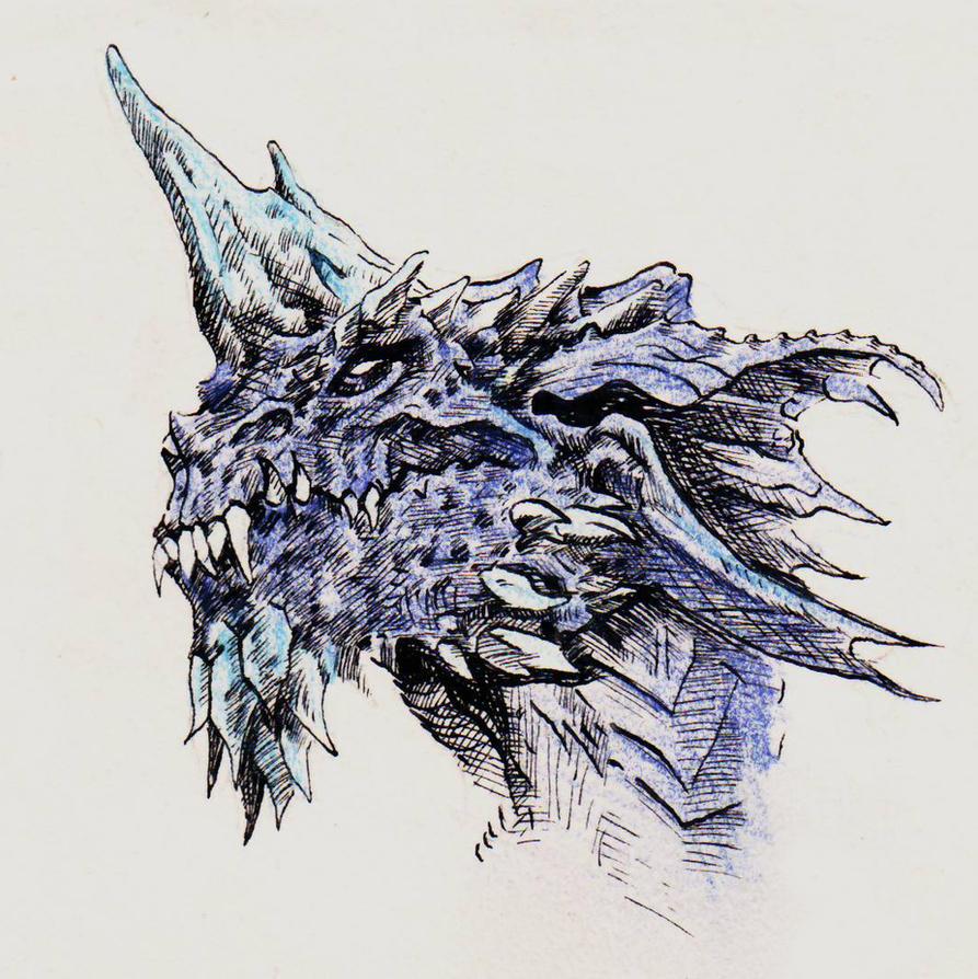 Dragons - Blue Dragon by yunuskocatepe