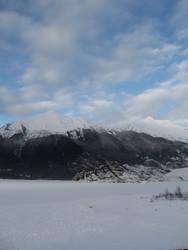 Mountainist blue skys