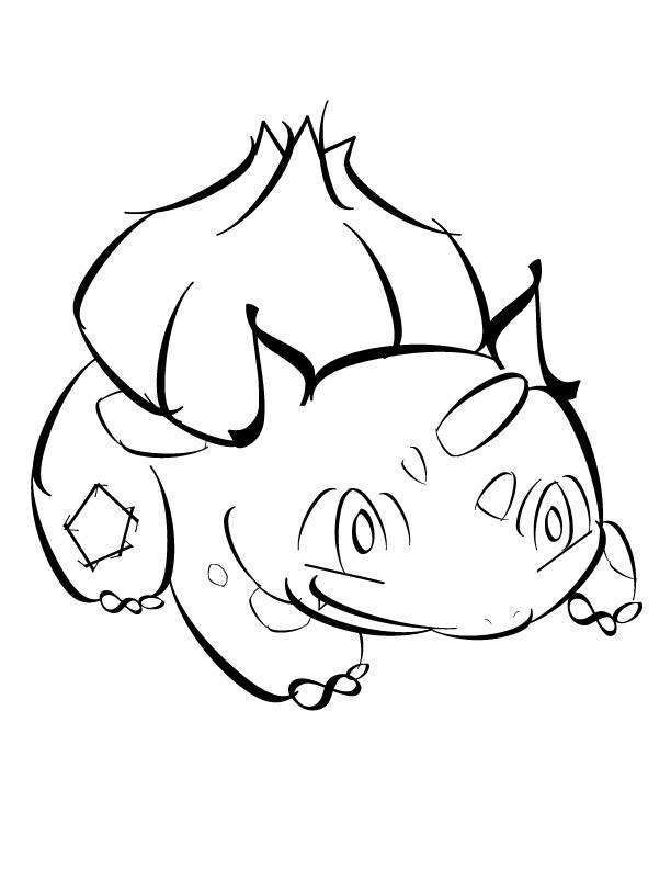 Typography Pokemon: Bulbasaur by jazzylsc