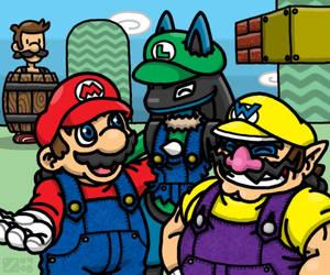 Super -ario Bros.