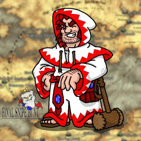 White Mage Jefferson by professorhazard
