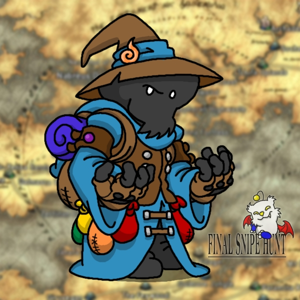 Black Mage Eric by professorhazard