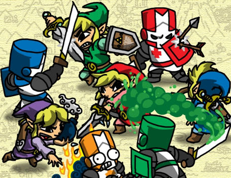 Sword Crashers by professorhazard