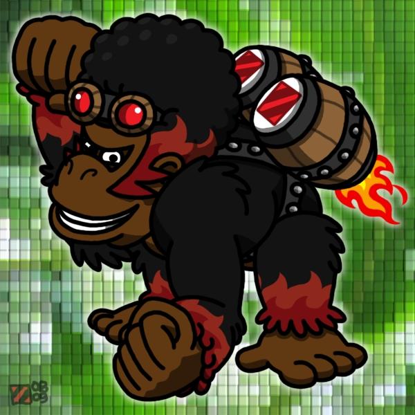 Pyro Kong by professorhazard