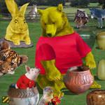 Winnie the Pooh by professorhazard