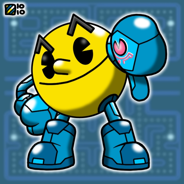 Zero Suit Pac-Man by professorhazard