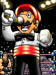 Referee Mario by professorhazard