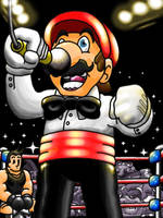 Referee Mario by professorhazard