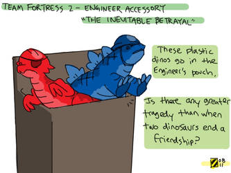 TF2 'The Inevitable Betrayal' by professorhazard