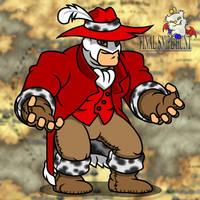 Red Mage Booyah by professorhazard