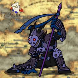 Dark Lancer Speed by professorhazard