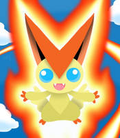 Victini by professorhazard
