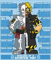 Anatomy of a Science Man by professorhazard