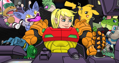 Samus and Friends