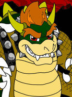 Bowser, King of the Koopas by professorhazard