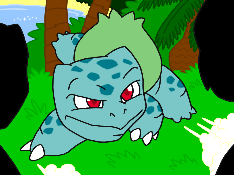 Bulbasaur by professorhazard