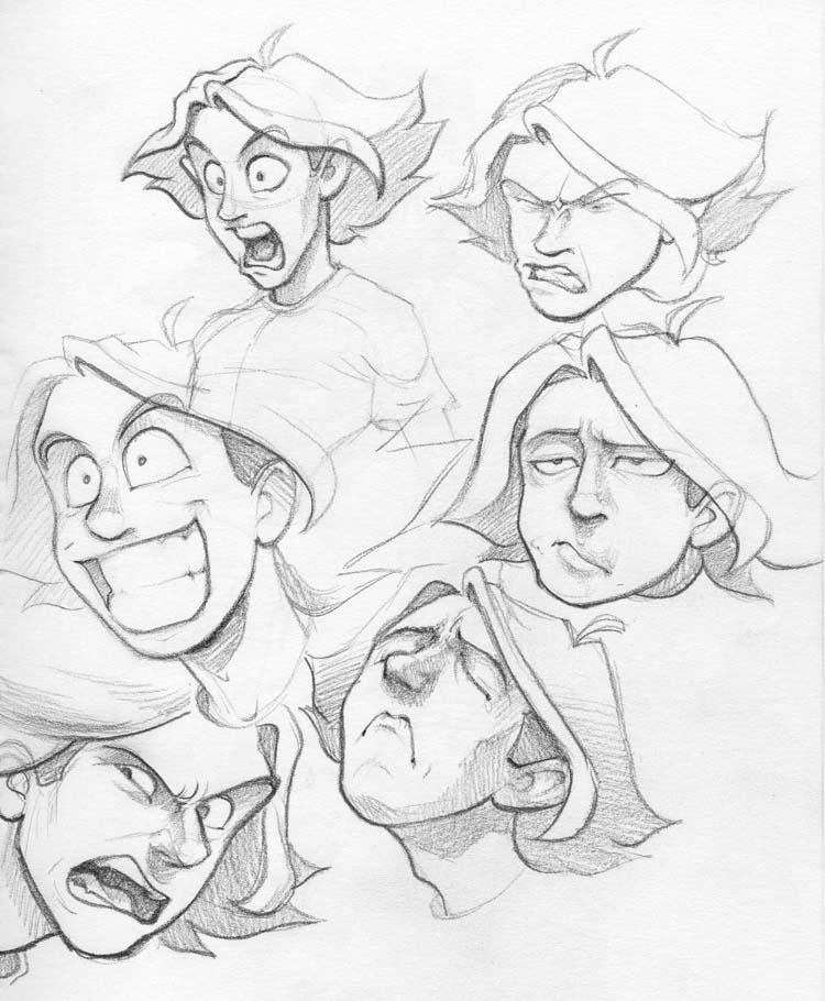 Funny Faces Drawings Funny Faces 3 by
