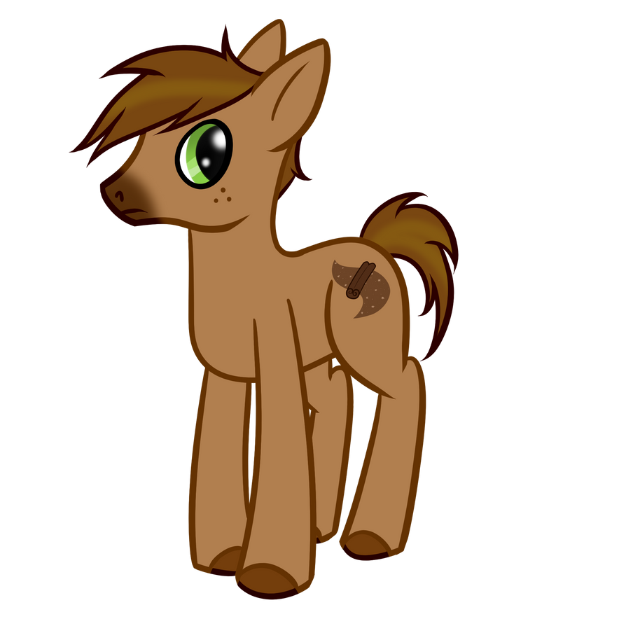 Cinnamon Stick ~Pony OC~ by AngelHuskune