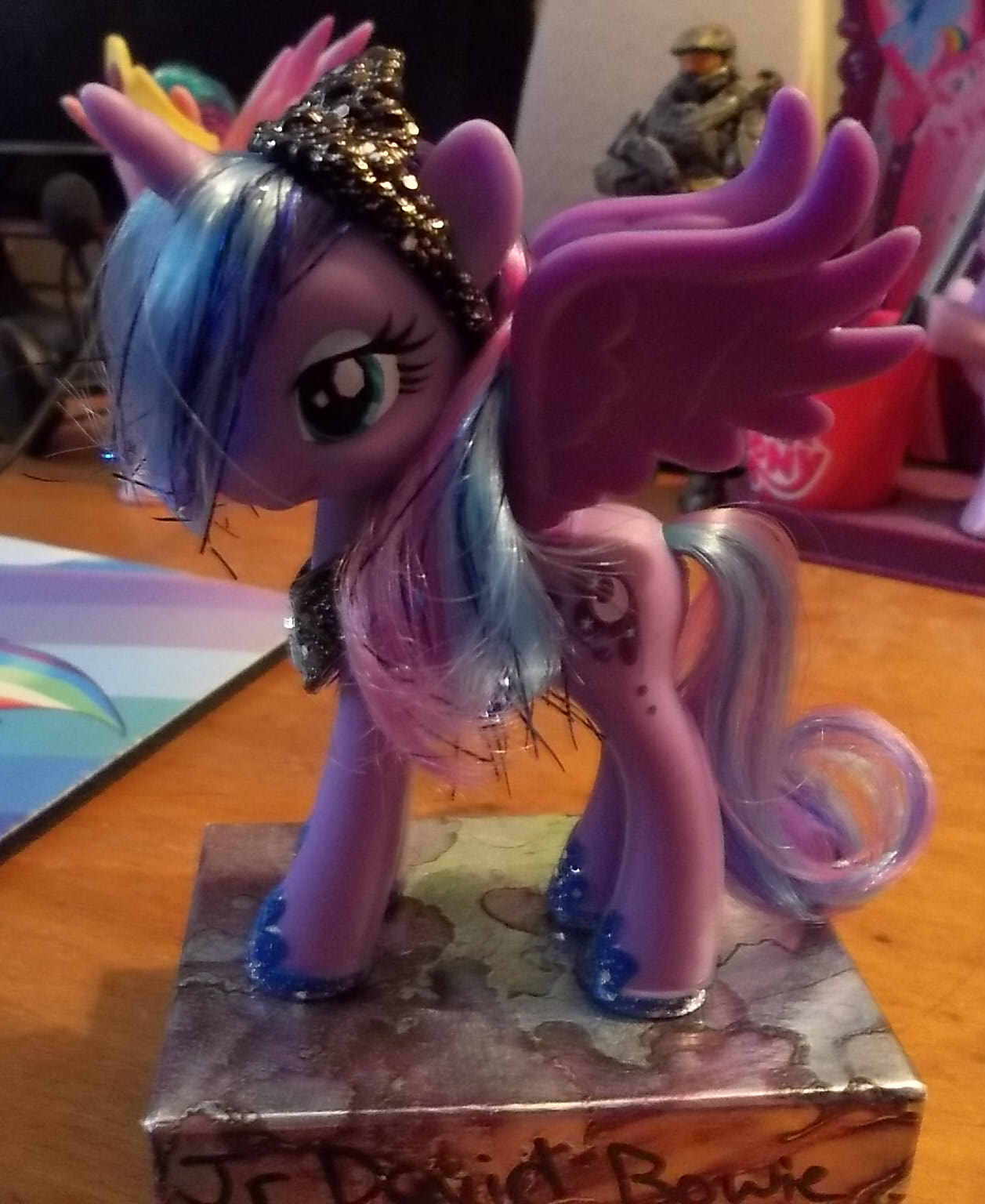 Customized Princess Luna Toy 1 By AngelHuskune On DeviantArt