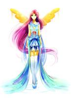 Fluttershy by Koveliana